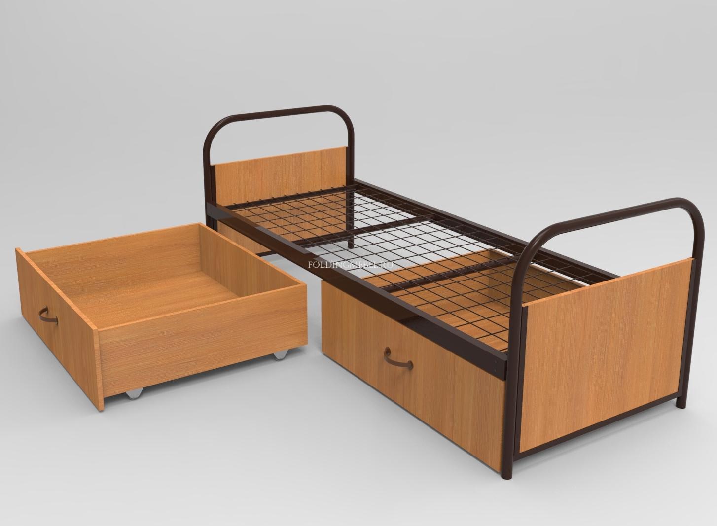 кровать односпальная металлическая к28 недорого с доставкой