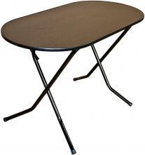 Стол складной овальный 900х600 Ривьера