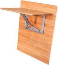 Складной стол навесной 700х700