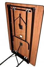 Стол складной прямоугольный 1200X800 Пьедестал