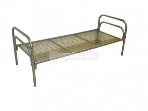 Кровать односпальная из металлокаркаса