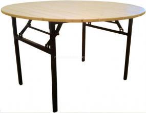 Стол складной круглый 1500мм Тамада Рейка