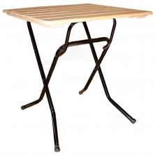Стол складной квадратный 700х700 Ривьера Рейка