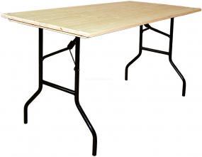 Стол складной прямоугольный 2400х900 Дельта Рейка