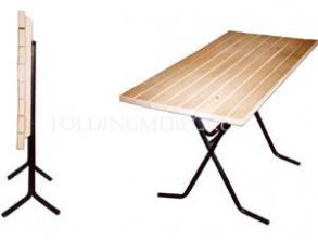 Складной прямоугольный стол 1200х600 Ривьера Рейка