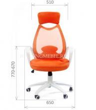 "кресло руководителя ""CHAIRMAN 840 White"""