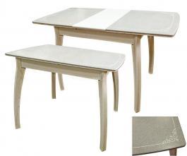 Стол раздвижной Футура с орнаментом