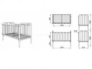 Кровать детская К 5.3