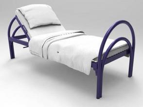 Кровать односпальная К18