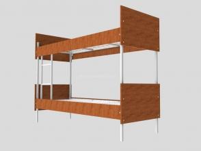 Кровать двухъярусная Д 18