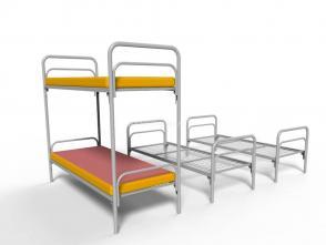 Кровать двухъярусная Д 25
