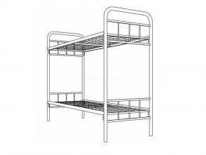 Кровать двухъярусная Д 1900