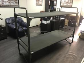 Кровать двухъярусная, армейская.