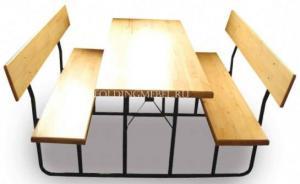 Складной комплект уличной мебели